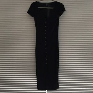 Forever 21 Black Casual Dress